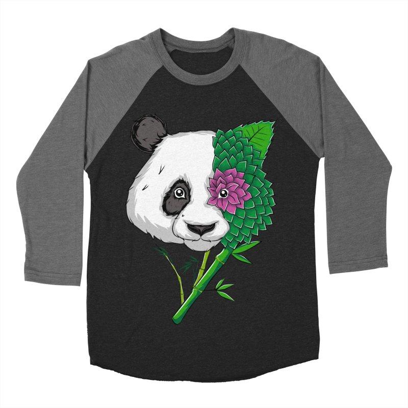 Oso panda -flower Women's Baseball Triblend T-Shirt by damian's Artist Shop
