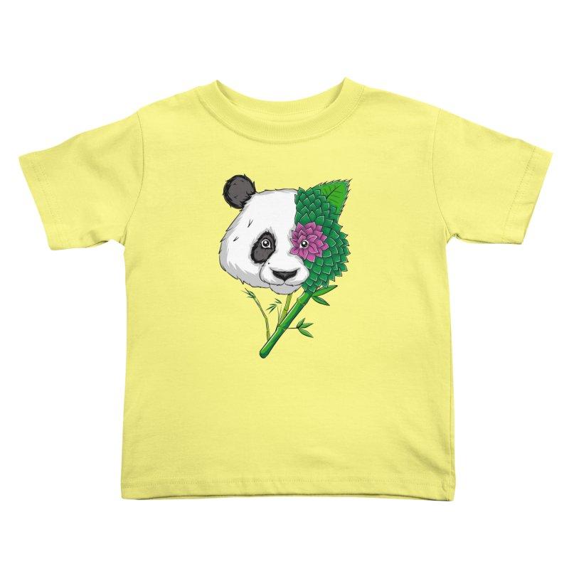 Oso panda -flower Kids Toddler T-Shirt by damian's Artist Shop