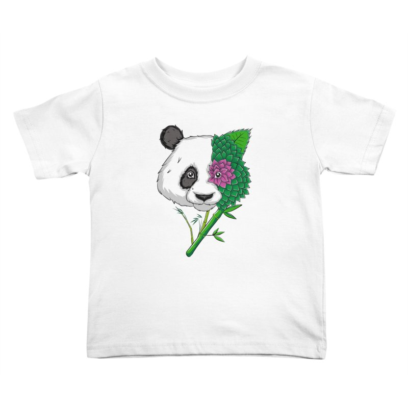 Oso panda -flower Kids Toddler T-Shirt by damian's Artist Shop