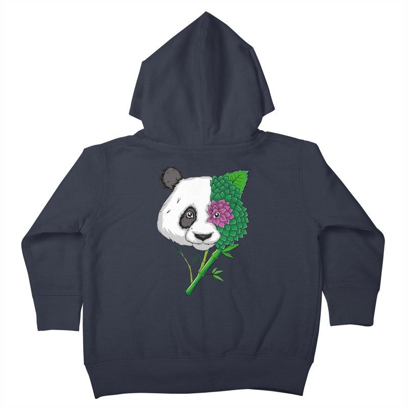 Oso panda -flower Kids Toddler Zip-Up Hoody by damian's Artist Shop
