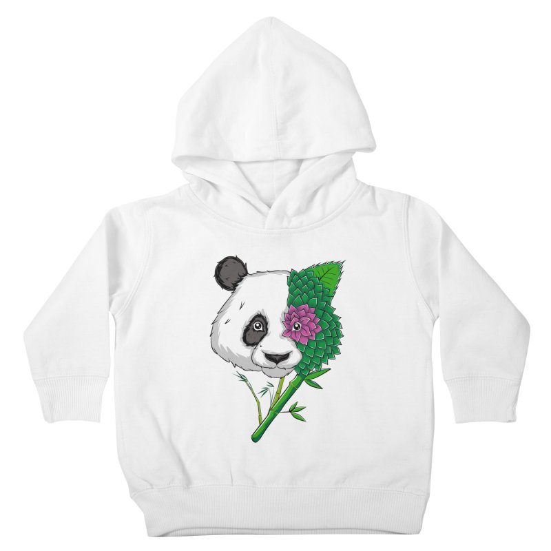 Oso panda -flower Kids Toddler Pullover Hoody by damian's Artist Shop