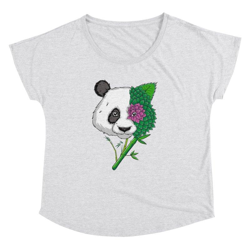 Oso panda -flower Women's Dolman by damian's Artist Shop