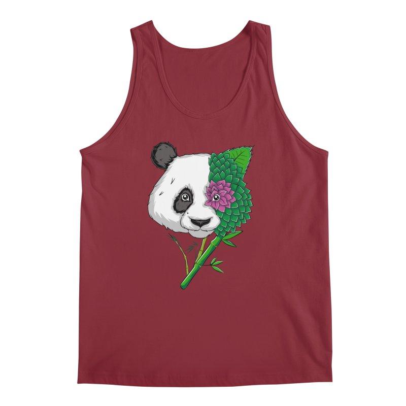 Oso panda -flower Men's Tank by damian's Artist Shop