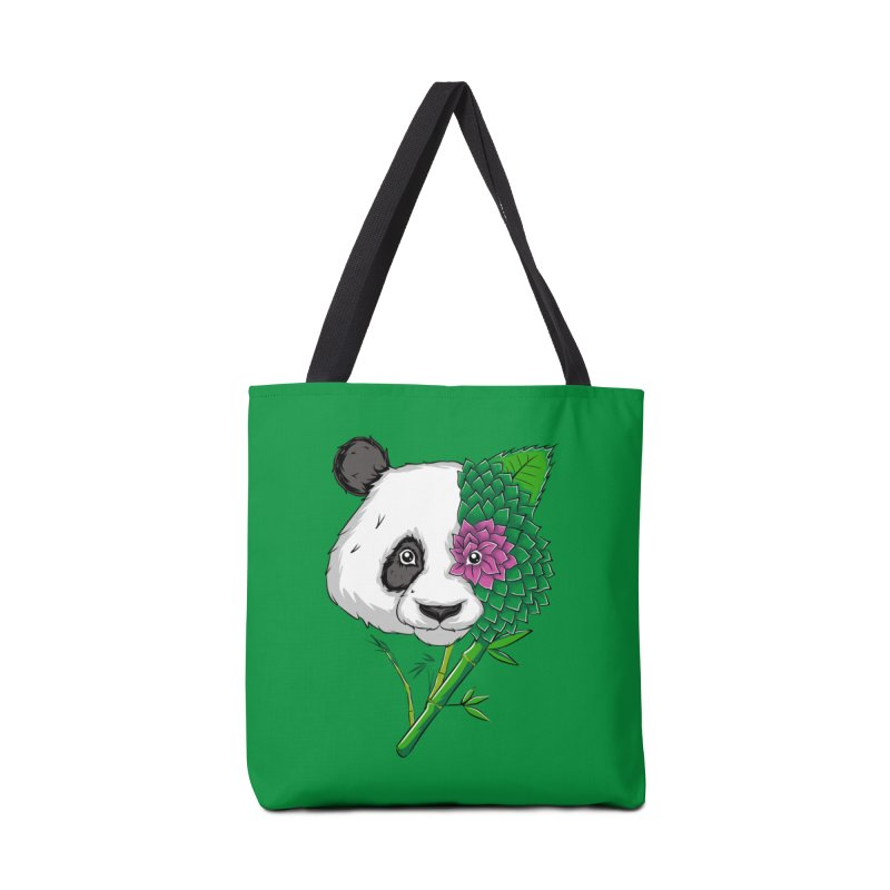 Oso panda -flower Accessories Bag by damian's Artist Shop