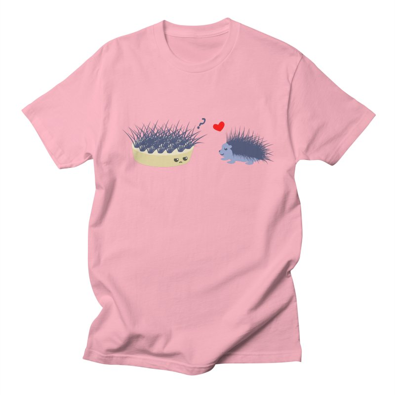 LOVE AT FIRST SIGHT Men's T-shirt by damian's Artist Shop