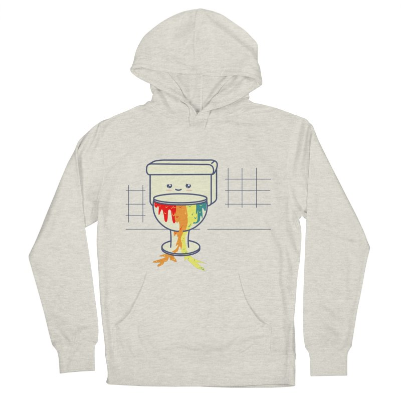 Retrete -rainbow- Men's Pullover Hoody by damian's Artist Shop
