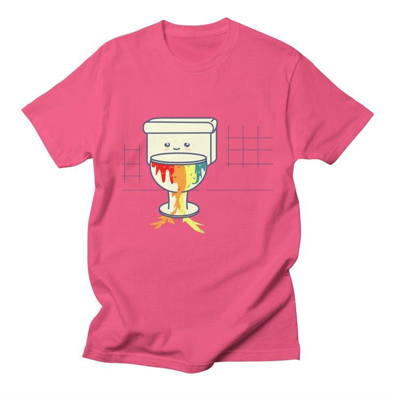 Retrete -rainbow- Men's T-shirt by damian's Artist Shop