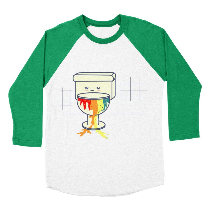 Retrete -rainbow- Men's Baseball Triblend T-Shirt by damian's Artist Shop