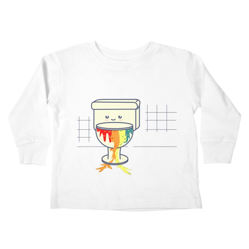 Retrete -rainbow- Kids Toddler Longsleeve T-Shirt by damian's Artist Shop