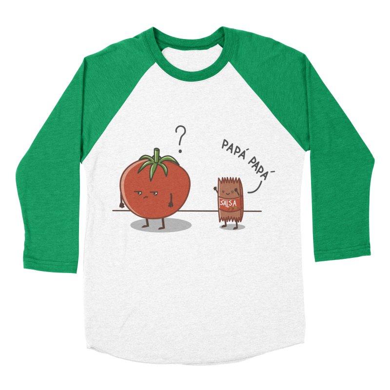Daddy-DaD Men's Baseball Triblend T-Shirt by damian's Artist Shop