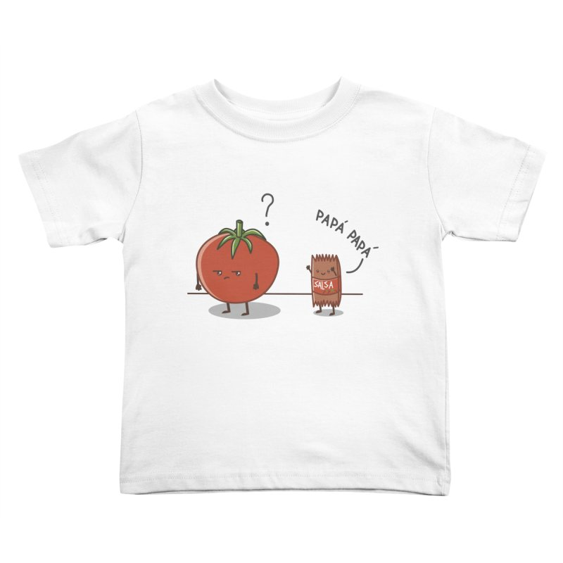 Daddy-DaD Kids Toddler T-Shirt by damian's Artist Shop