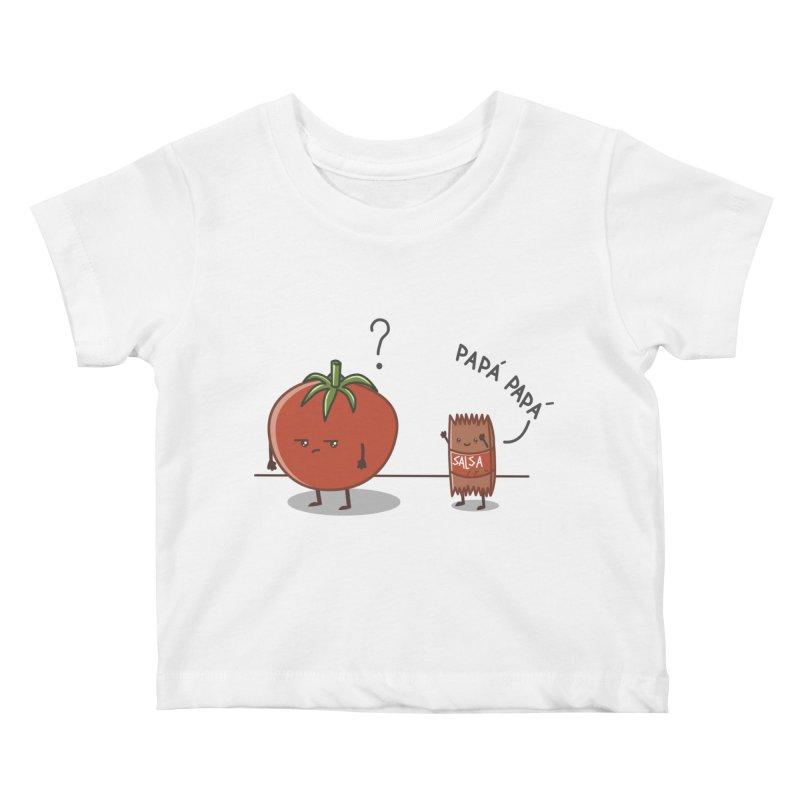 Daddy-DaD Kids Baby T-Shirt by damian's Artist Shop