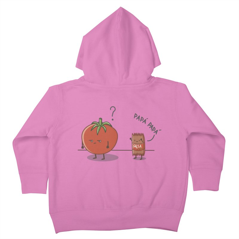 Daddy-DaD Kids Toddler Zip-Up Hoody by damian's Artist Shop