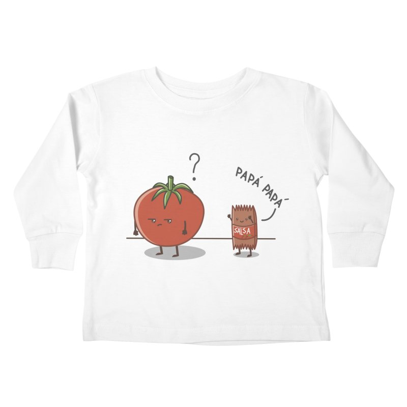 Daddy-DaD Kids Toddler Longsleeve T-Shirt by damian's Artist Shop