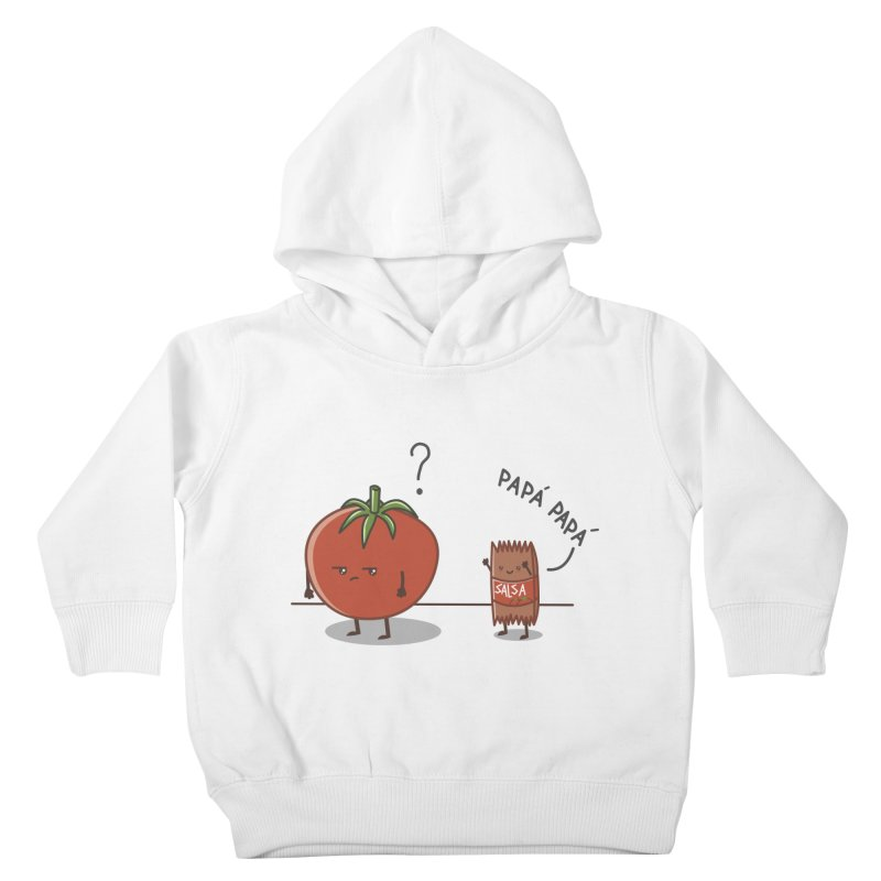 Daddy-DaD Kids Toddler Pullover Hoody by damian's Artist Shop