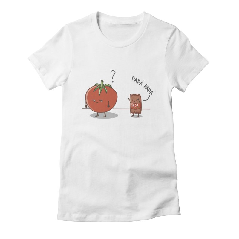 Daddy-DaD Women's Fitted T-Shirt by damian's Artist Shop