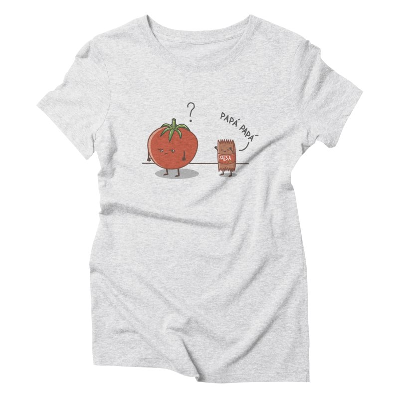 Daddy-DaD Women's Triblend T-shirt by damian's Artist Shop