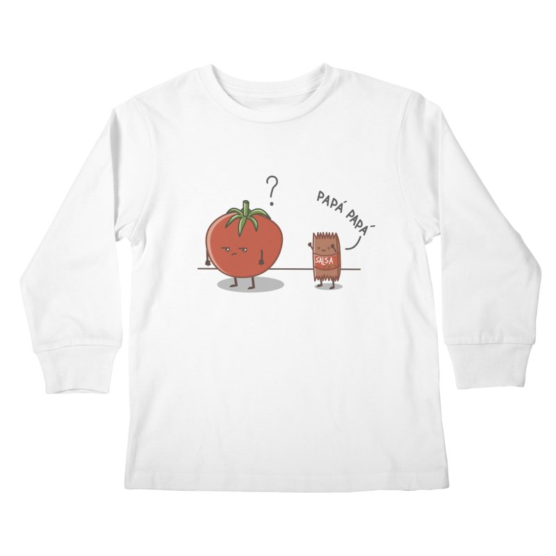 Daddy-DaD Kids Longsleeve T-Shirt by damian's Artist Shop