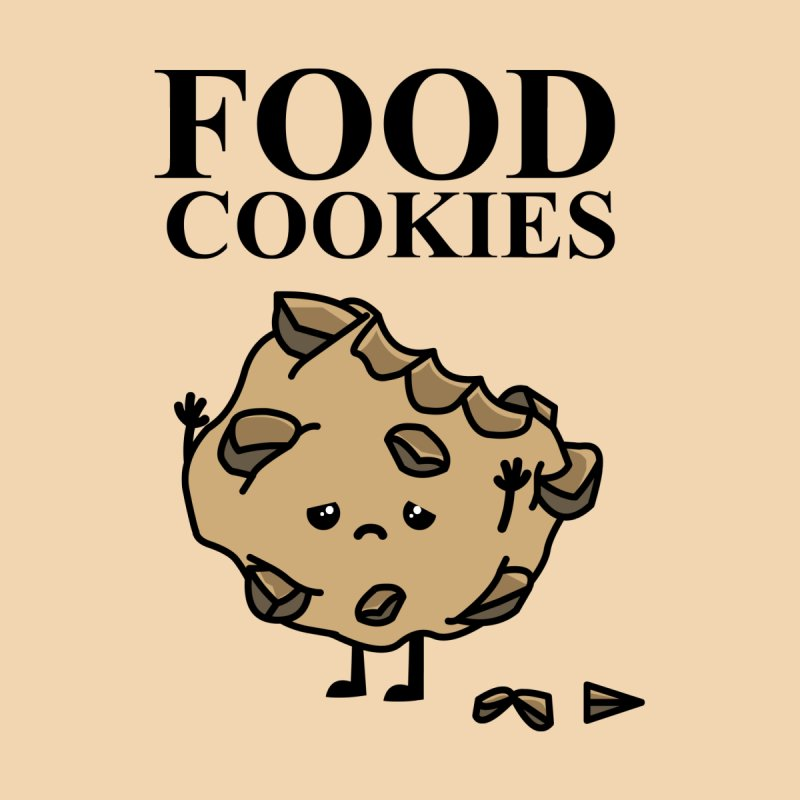 FOOD Cookies Men's T-shirt by damian's Artist Shop