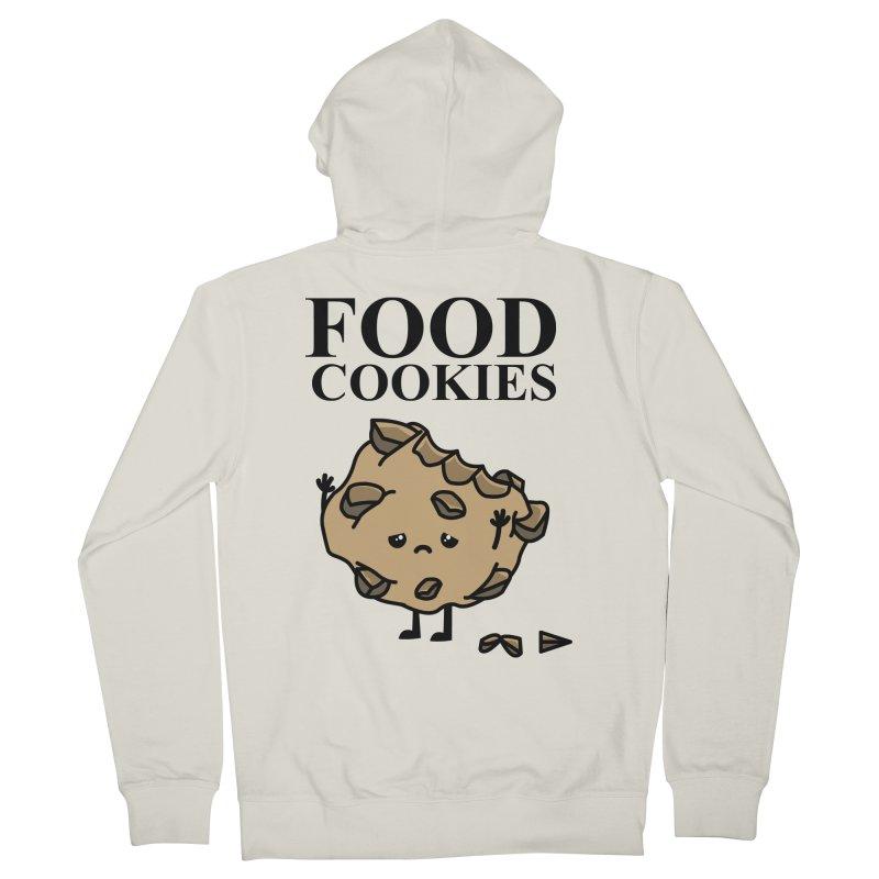 FOOD Cookies Women's Zip-Up Hoody by damian's Artist Shop