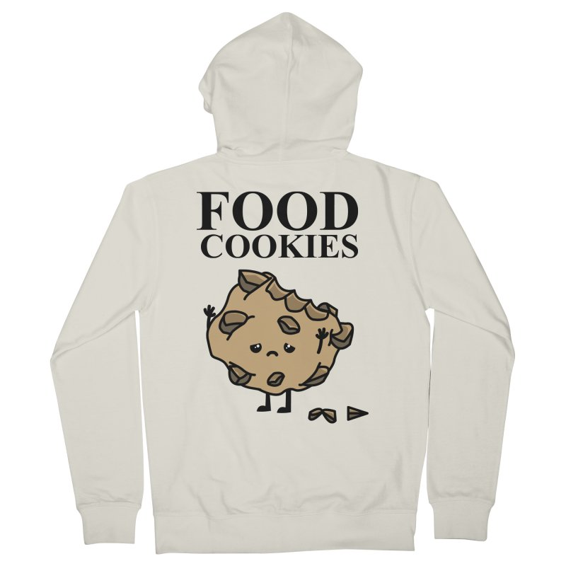 FOOD Cookies Men's Zip-Up Hoody by damian's Artist Shop