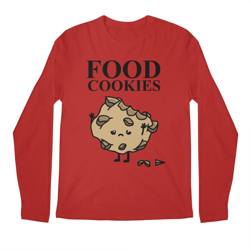 FOOD Cookies Men's Longsleeve T-Shirt by damian's Artist Shop