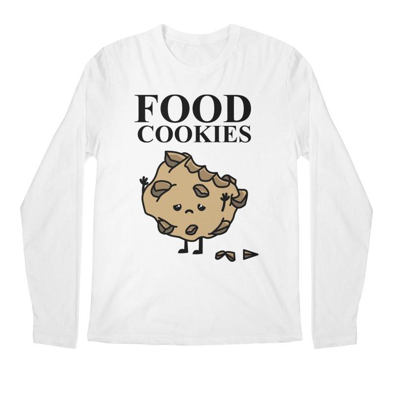 FOOD Cookies Men's Longsleeve T-Shirt by damian's Artist Shop