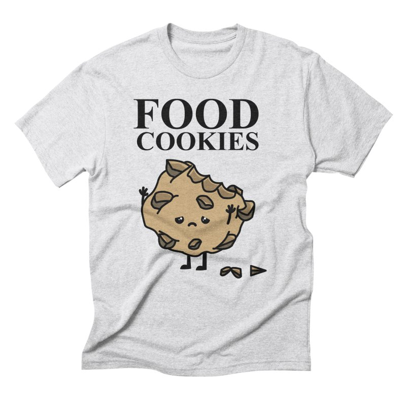 FOOD Cookies Men's Triblend T-shirt by damian's Artist Shop