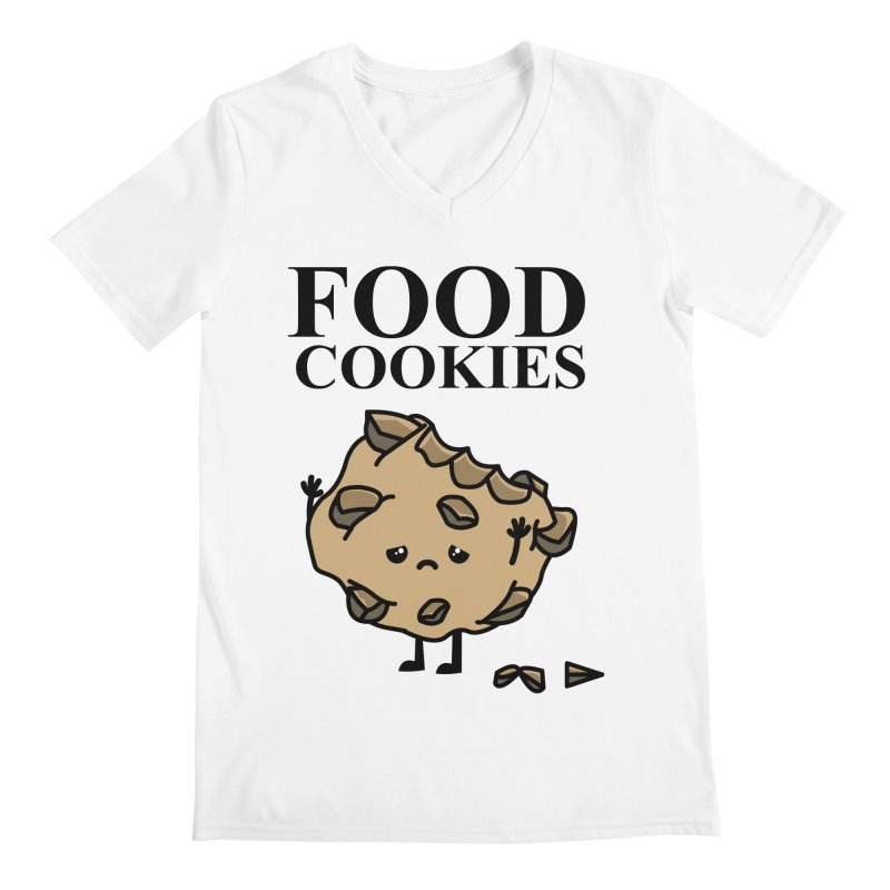 FOOD Cookies Men's V-Neck by damian's Artist Shop