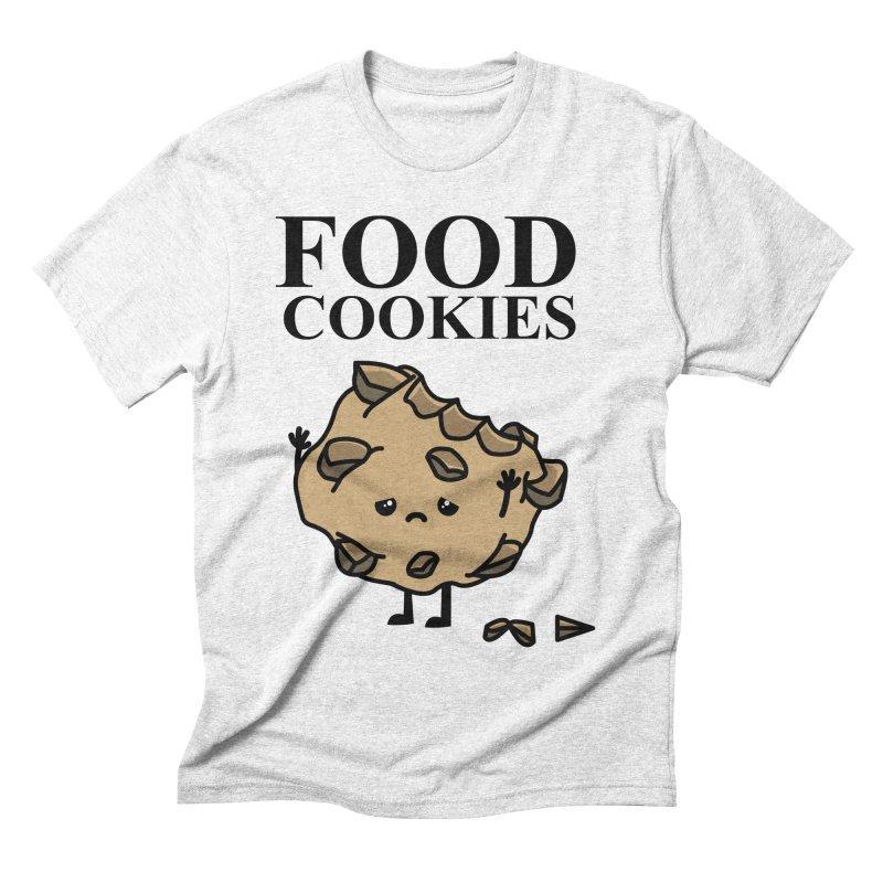 FOOD Cookies Men's Triblend T-shirt by damian's Artist Shop