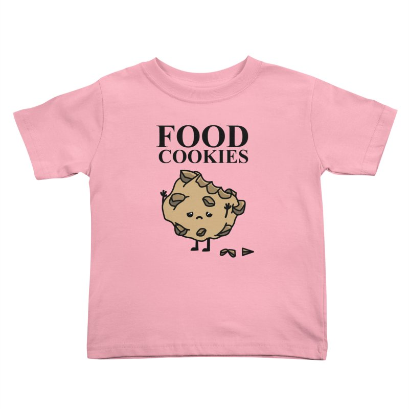 FOOD Cookies Kids Toddler T-Shirt by damian's Artist Shop