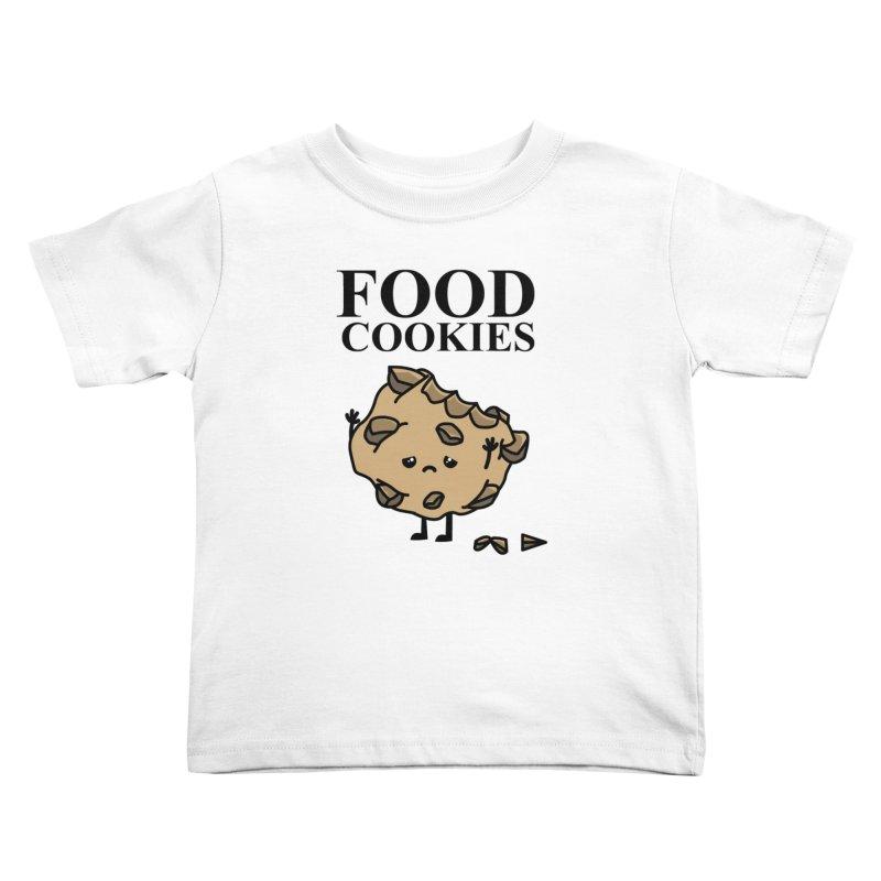 FOOD Cookies Kids Toddler T-Shirt by damian's Artist Shop