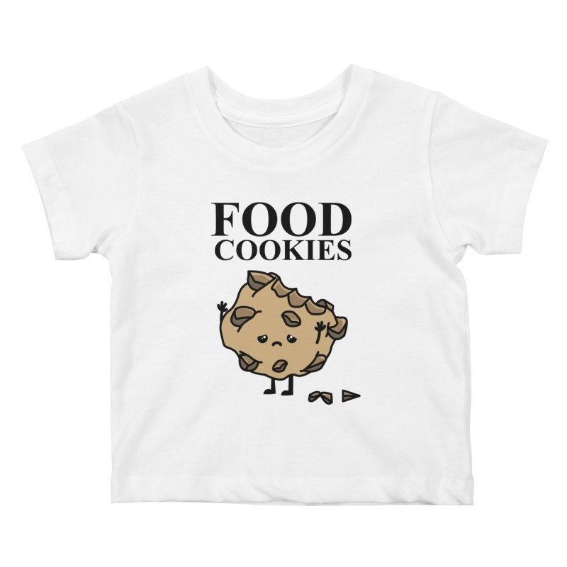 FOOD Cookies Kids Baby T-Shirt by damian's Artist Shop