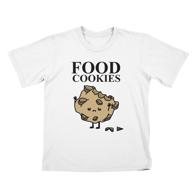 FOOD Cookies Kids T-shirt by damian's Artist Shop