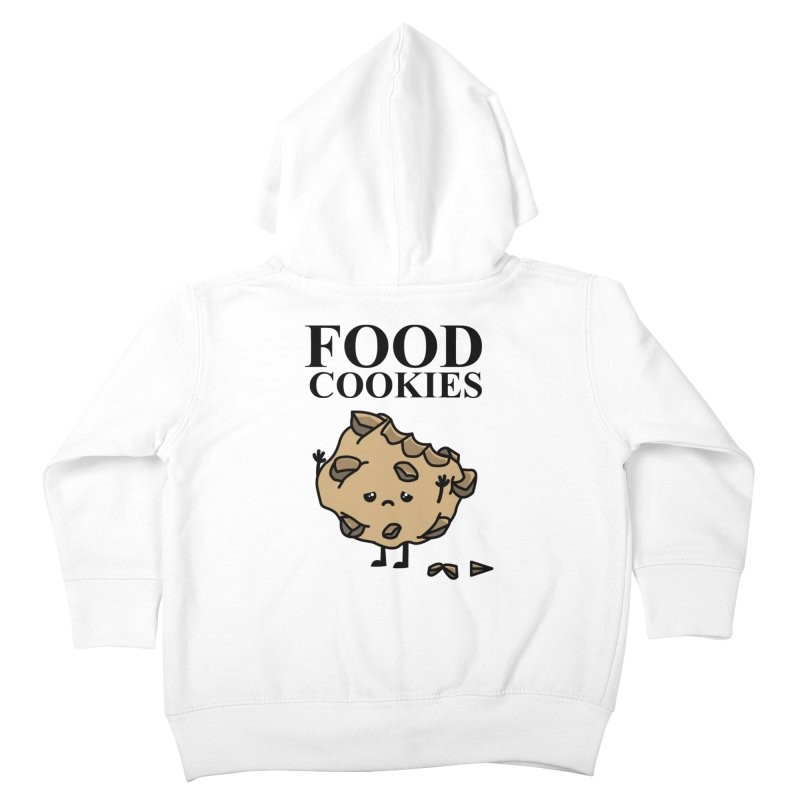 FOOD Cookies Kids Toddler Zip-Up Hoody by damian's Artist Shop