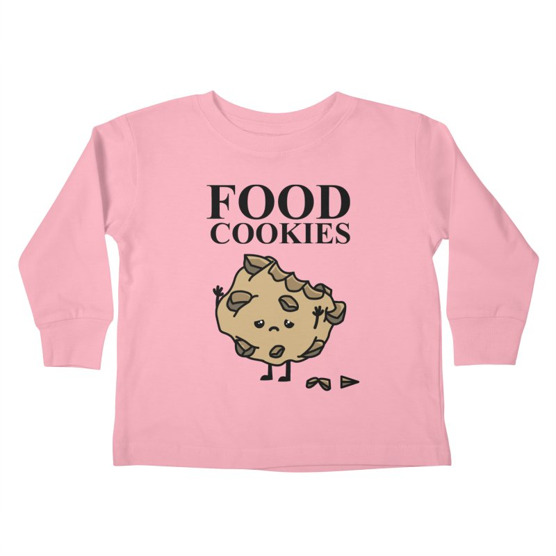 FOOD Cookies Kids Toddler Longsleeve T-Shirt by damian's Artist Shop