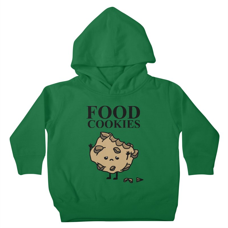 FOOD Cookies Kids Toddler Pullover Hoody by damian's Artist Shop