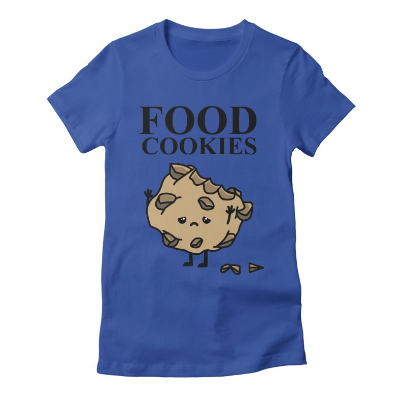 FOOD Cookies Women's Fitted T-Shirt by damian's Artist Shop