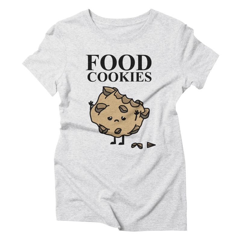 FOOD Cookies Women's Triblend T-shirt by damian's Artist Shop