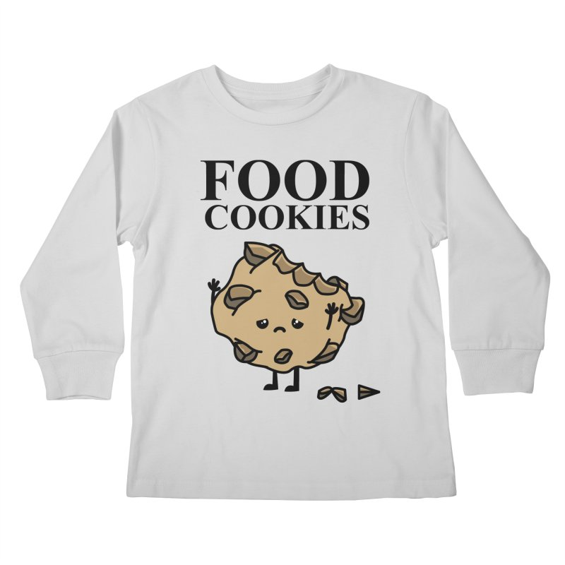 FOOD Cookies Kids Longsleeve T-Shirt by damian's Artist Shop