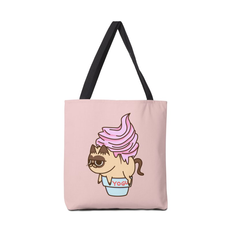 Yogur cat Accessories Bag by damian's Artist Shop