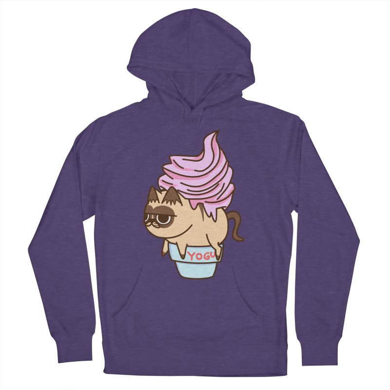 Yogur cat Men's Pullover Hoody by damian's Artist Shop