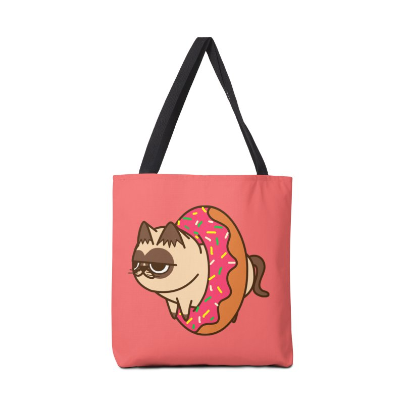 donuts  cat Accessories Bag by damian's Artist Shop