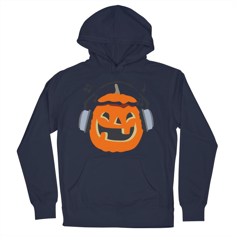 Halloween Music Men's Pullover Hoody by damian's Artist Shop
