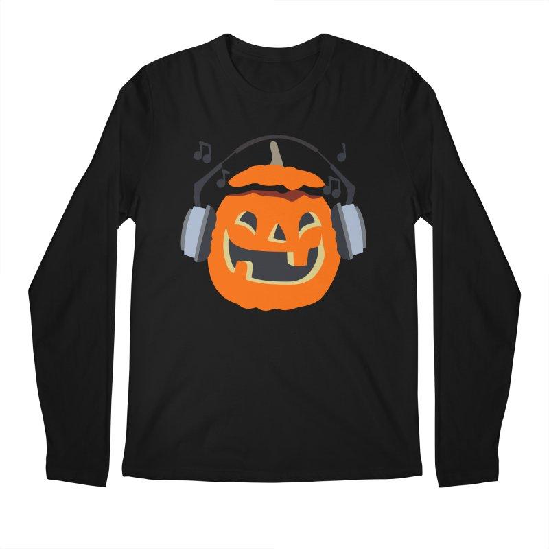 Halloween Music Men's Longsleeve T-Shirt by damian's Artist Shop