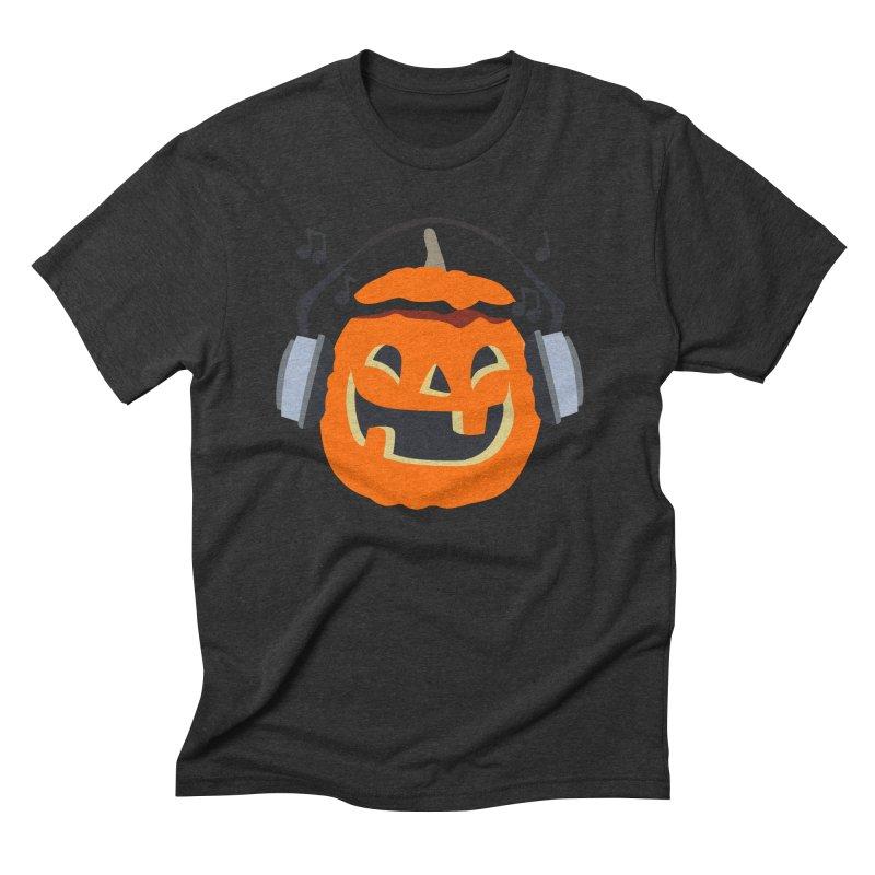 Halloween Music Men's Triblend T-Shirt by damian's Artist Shop