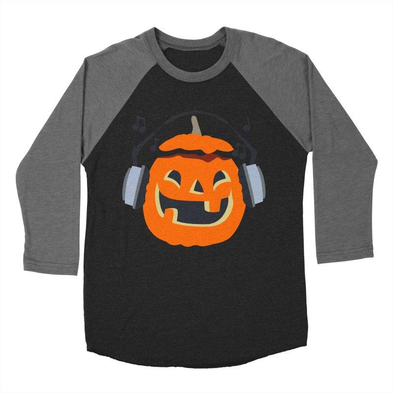 Halloween Music Women's Baseball Triblend Longsleeve T-Shirt by damian's Artist Shop