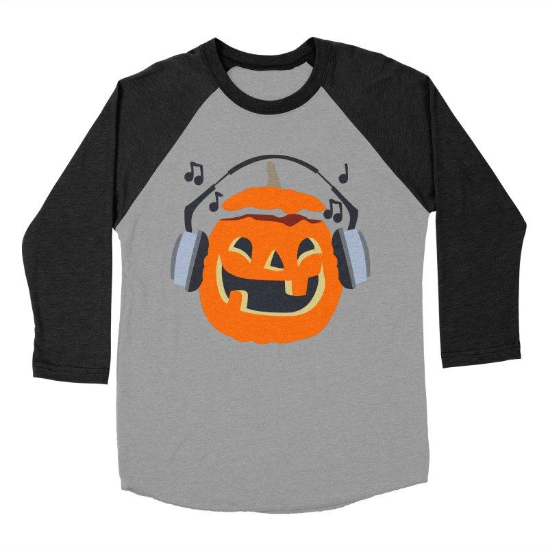 Halloween Music Women's Baseball Triblend T-Shirt by damian's Artist Shop