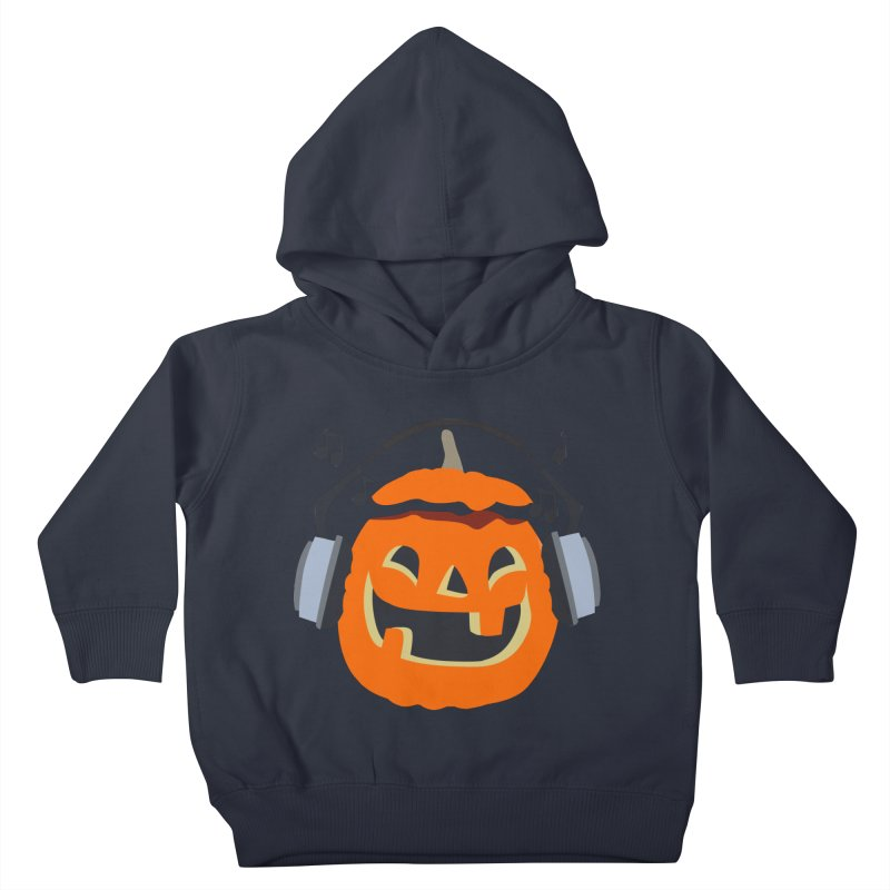 Halloween Music Kids Toddler Pullover Hoody by damian's Artist Shop