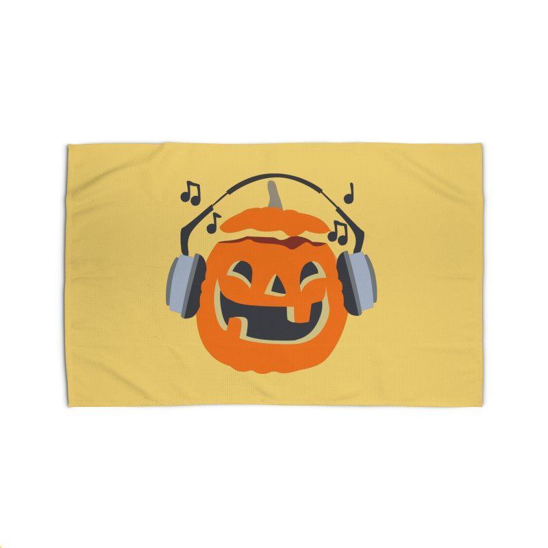 Halloween Music Home Rug by damian's Artist Shop